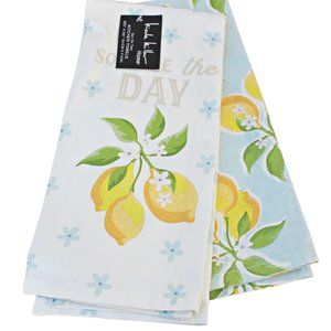 Nicole Miller Squeeze The Day 2Pk Kitchen Towels